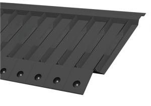 G1280 Felt Support Tray  625mm - Manthorpe